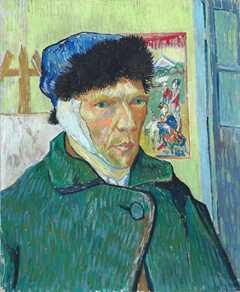 Autoportret z obandażowanym uchem - Vincent van Gogh Kategoria MALARSTWO